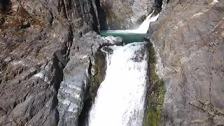 How To Fly Your Drone Into A Waterfall - Video