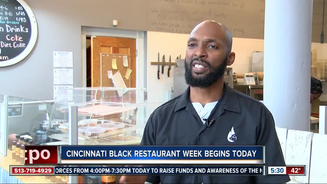 Cincinnati Black Restaurant Week begins today