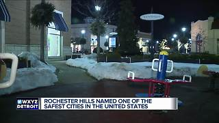 Rochester Hills named one of the safest cities in the United States - Video
