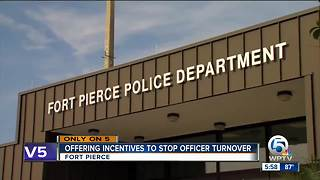 Fort Pierce considers incentives for police officers to reduce turnover - Video