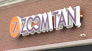 Zoom Tan files complaint saying it's not a COVID risk