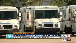 More mail problems piling up in Collier County - Video
