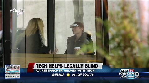 UA researcher helps bring sight to legally blind through eyewear technology
