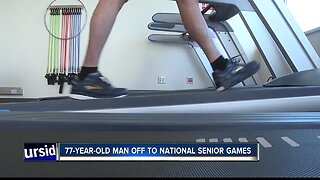 Heart attack patient heads off to National Senior Games