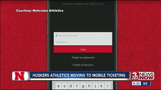 Huskers Athletics moving to mobile ticketing