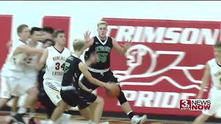 Omaha Skutt vs. Omaha Roncalli basketball - Video