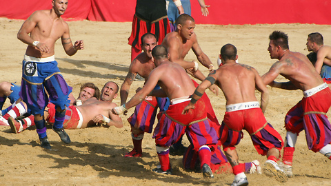 Calcio Storico: The World's Most Violent Game