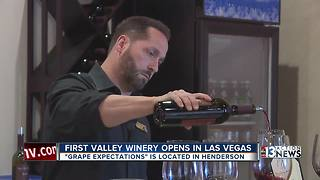First valley winery opens in Las Vegas - Video