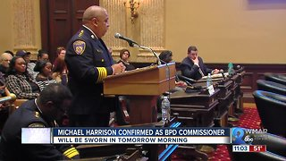 City Council Confirms Michael Harrison as BPD Commissioner