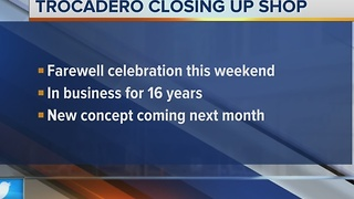 Milwaukee's Trocadero restaurant is closing this month - Video