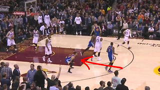 Steph Curry LITERALLY Poops on the Cavs - Video