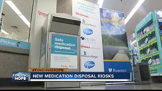 Medication disposal kiosks open at local Walgreens stores - Video