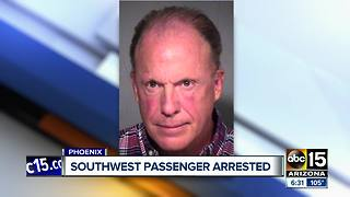 Man accused of assaulting a Southwest Airlines employee - Video