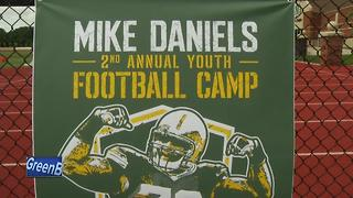 Mike Daniels Football Camp - Video