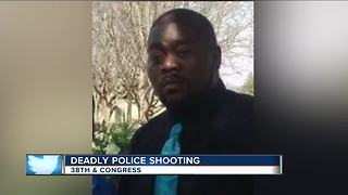 Friends say blind man shot, killed by Milwaukee Police was trying to stop fight - Video