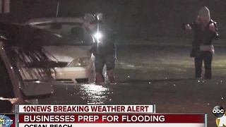 Businesses prep for flooding - Video