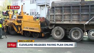 After months of asking, we've finally received the list of roads the City of Cleveland will repave - Video