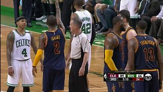"OUCH! Kyrie Irving's ""Scoreboard"" Response to Isaiah Thomas' Trash Talking Was BRUTAL - Video"