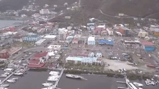 Hurricane Irma Causes Destruction on British Virgin Island of Tortola - Video