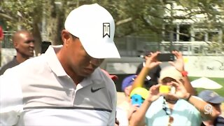 Locals react to Tiger Woods news
