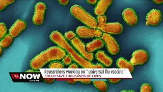 Researchers working on universal flu vaccine that could save thousands of lives - Video