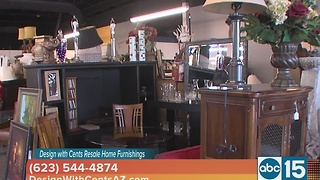 Design with Cents Resale Home Furnishings - Video