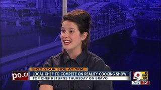 Local restaurant owner to compete on 'Top Chef'