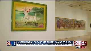Philbrook Museum of Art hosts Cheech Marin's Chicano Art Gallery - Video