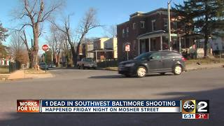 Two shootings reported Friday night, one deadly - Video