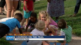 Born Learning Trail unveiled in Enderis Park - Video
