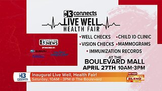 13 Connects Presents: Live Well, Health Fair