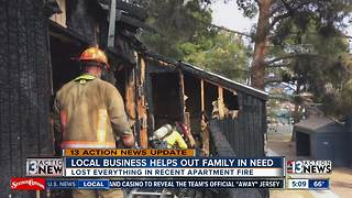 Local business helps out family in need