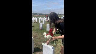 'Rose Campaign' delivered to thousands of grave markers at national cemeteries