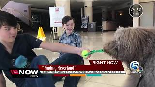 Finding Neverland playing now at the Kravis Center - Video