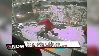 New perspective on stolen guns - Video