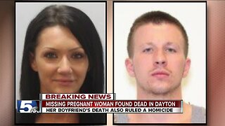 Missing pregnant woman found dead in Dayton