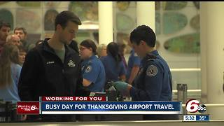 More than 14,500 people expected to travel by plane for Thanksgiving - Video