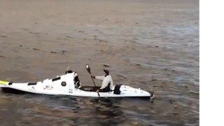 First Trans-Tasman Kayaker Poised to Arrive in New Zealand - Video