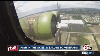 High in the skies: A salute to veterans - Video