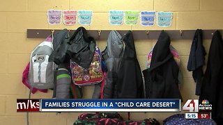 Families struggle in 'day care deserts'