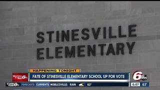 Fate of Stinesville Elementary School up for vote - Video