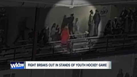 Fight breaks out in stands of youth hockey game, NY division of USA Hockey investigating