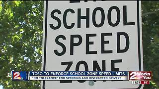 Tulsa deputies to enforce school zone speed limits - Video
