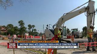 Pass-A-Grille Way construction won't wrap up until March 2019 - Video