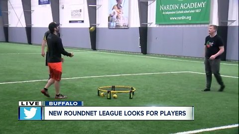 Join a 'spikeball' league at the Nardin Athletic Center
