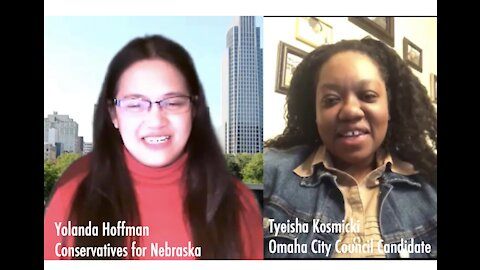 Yolanda Hoffman's Conversation with Omaha City Council Candidate Tyeisha Kosmicki