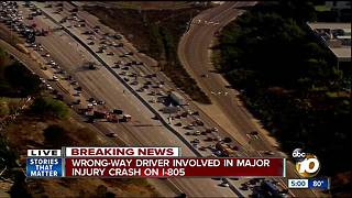 At least one dead in San Diego crash on I-805 - Video