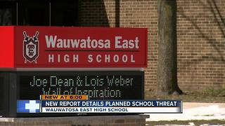 Wauwatosa East teen told students killing them would be easy - Video