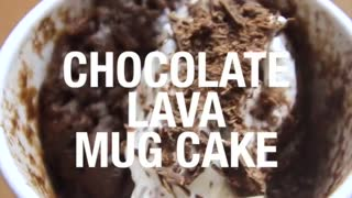 Chocolate Lava Mug Cake - Video
