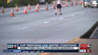 CHP recommends Grapevine drivers prepare for snow - Video